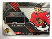 2019-20 Upper Deck SPX Alex Debrincat Extravagent Materials Jersey Blackhawks