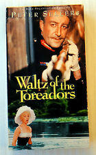 Waltz of the Toreadors ~ VHS Movie ~ 1962 Peter Sellers Classic Comedy ~ Rare