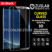 For Galaxy S9 S8 Plus Genuine ZUSLAB 3D Tempered Glass Full Screen Protector
