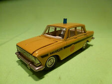 MADE IN USSR MOSKVITCH 412 - RUSSIAN POLICE CAR -  VERY GOOD CONDITION