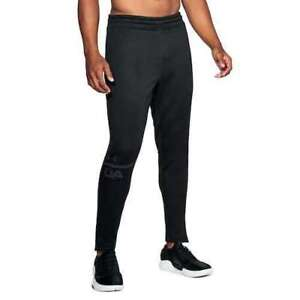NWT UNDER ARMOUR UA MENS MK1 TERRY TECH TAPERED BLACK SWEAT PANT XL MSRP $55