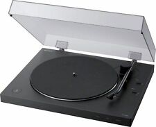 New listing Open-Box Excellent: Sony - Bluetooth Stereo Turntable - Black