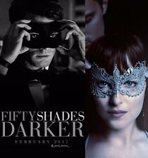 50 Shades Darker Styled Masks - His & Hers BOTH MASKS - OVERNIGHT TO YOU!
