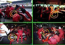 1992 Le Mans 24 hours #51 Pitstop - Kremer Porsche CK6 - 4 Original 35mm Slides