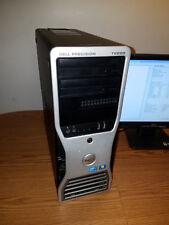 DELL PRECISION T5500 12 CORE/DUAL XEON 2.80GHz 12GB MEMORY DUAL DVD/RW DUAL DVI