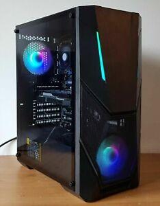 ULTRA FAST INTEL QUAD CORE i7 16GB RAM NVIDIA GTX 1650 120GB SSD 1TB GAMING PC