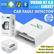New Viecar Bluetooth v4.0 OBD2 Car Diagnostics Scanner For Apple/Android carista