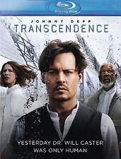 Transcendence - Johnny Depp, Morgan Freeman (Blu-ray, New & Sealed, Reg. B) k4
