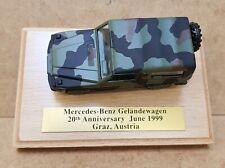 Cursor 1/35 SELTENES SONDERMODELL Mercedes Geländewagen BUNDESWEHR flecktarn OVP