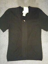 BNWT Women's 'Millers' Black Knit Top / Cardigan - Size Small