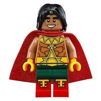 The LEGO Batman Movie El Dorado Minifigure Split from 70919 (Bagged)