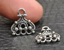 50pcs  tibetan silver charms Connectors fit  Jewelry Findings 14x13mm