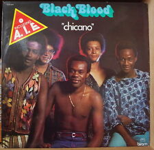 """BLACK BLOOD """"CHICANO""""  FRENCH LP"""