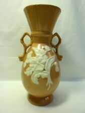 "Weller Cameo 9 3/4"" Vase in Orange"