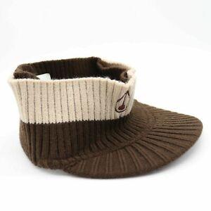 Nixon Visor Headband Beanie Brown Khaki