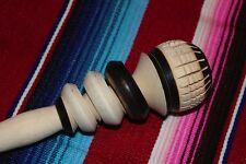 WOODEN WHISK STIRRER, MOLINILLO MEXICAN CHOCOLATE COCOA Natural Wood