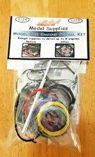 1/25 Model Car Engine Detail Kit Spark Plug Wire Braided Line Resin Parts Heater
