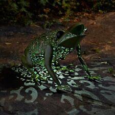 Smart Solar Silhouette Frog Light Garden Patio Path Animal Ornament Lighting