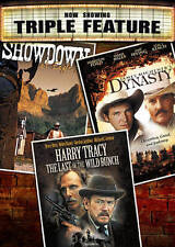 Dynasty/Showdown at Eagle Gap/Harry Tracy: The Last of the Wild Bunch (DVD) NEW!