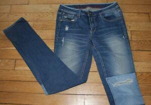 HERITAGE LTC  Jeans pour Femme W 27 - L 30 Taille Fr 36 CARLINE (Réf #O094)