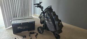 MotoCaddy M5gpsDHC Electric Trolley! With motocaddy bag and accessories!!