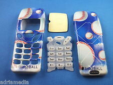 Front Back Cover Tastatur f. Nokia 3210 Gehäuse Handyschale Housing Neu Baseball