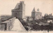 CARCASSONNE (cité) - les Remparts intérieurs, Tour du Trésor, Porte de Narbonne