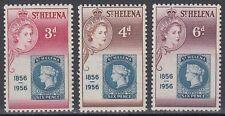 St. Helena 1956 ** 136/38 Marke auf Marke Stamp on stamp [sq5937]