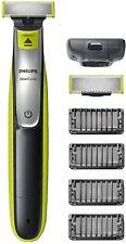 Philips QP2530/30 OneBlade, Rade, Regola e Rifinisce con 4 Pettini Regolabarb...