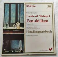 L'ANELLO DEL NIBELUNGO L'ORO DEL NERO LP KNAPPERTSBUSCH VINYL ITALY 1981 NM/NM