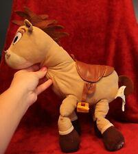 Disney Store Pixar Toy Story MC Bullseye Woody's Horse with Saddle Plush 12 Inch