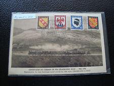 FRANCE  - carte postale 1946(centenaire du chemin de fer strasbourg-bale) (cy65)
