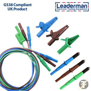 Leaderman LDM065 Test Kabel Satz Für Kewtech Multifunktionstester KT63 KT64 KT65
