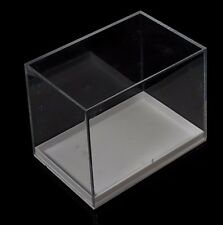 4 x Long (3 in) Perky Mineral Rock Fossil Acrylic Display Boxes