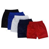Children Kid Boy Girl PE School Football Sport Shadow Stripe Shaded Gym Shorts