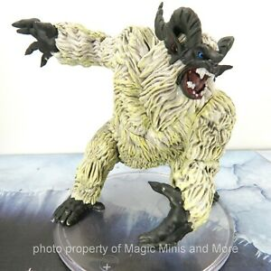 Icewind Dale Rime Frostmaiden ~ ABOMINABLE YETI #31 Icons Realm D&D huge mini