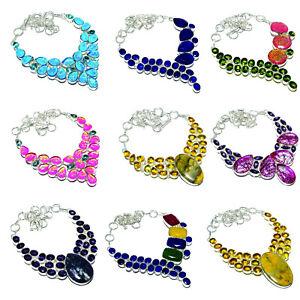 Ocean Jasper Pear Shape Gemstone Pendant For Easter Gift 925 Sterling Silver Handmade Designer Pendant Jewelry Length 1.75 svp5939