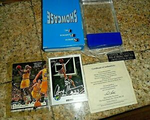 1993-94 Classic Draft Picks #1 /3000 Chris Webber Mint Signed GOLD RC & MOURNING