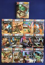 Lego Star Wars Lot 12 Childrens Phonics Books Learn To Read Set NEW