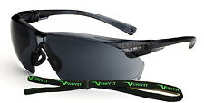 Univet 505 Smoke Lens Safety Glasses With Neck Cord (505U.00.00.02)