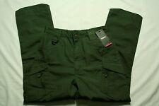 TACVASEN Zip Pockets Mens Outdoor Cargo Safari Pants UTP Trousers tag sz L NWT