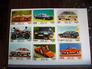 Wrappers TURBO not full collection 51-120 from 80s USSR CCCP ВКЛАДЫШИ ТУРБО 90-е