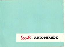 Goliath  Catalog  1100 Hansa, Express 1100, Goli 3 Wheel, Jagdwagen  Circa 1957