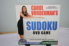 CAROL VORDERMAN'S SUDOKU DVD GAME (NIB) (2005 MATTEL)