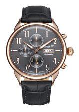 Ingersoll Automatik Herren Armbanduhr Jeffords IN1415RGY UVP 399€