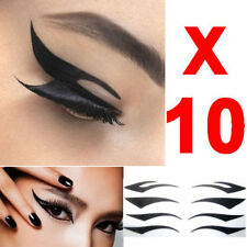 40 Pairs Eyeliner Stickers Eyeshadow Stickers 4 Styles Package On One Paper t