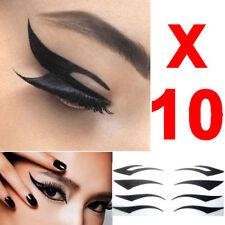 40 Pair Supersexy Sofort Eyeliner Tattoo-Aufkleber Makeup erforderliche