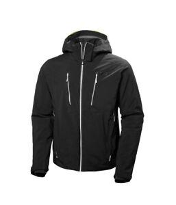 Men's Helly Hansen Alpha 3.0 Ski Jacket in Black size Small