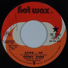 HONEY CONE: Stick Up / VIP USA Hot Wax Funk Soul DJ PROMO 45 NM-