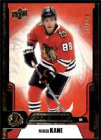 2019-20 Credentials Red Parallel #49 Patrick Kane /199 - Chicago Blackhawks